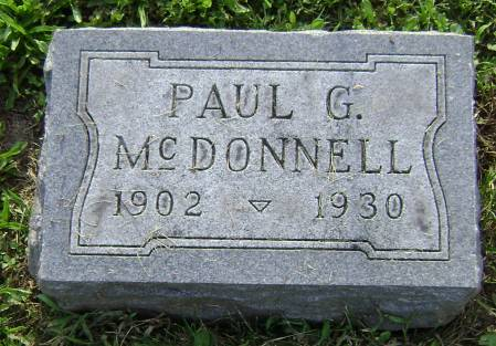MCDONNELL, PAUL G - Polk County, Iowa | PAUL G MCDONNELL