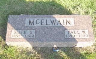 MCELWAIN, RUTH - Polk County, Iowa   RUTH MCELWAIN