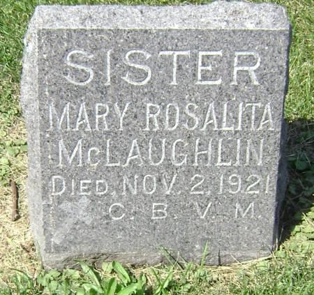 MCLAUGHLIN, SISTER MARY ROSALITA - Polk County, Iowa | SISTER MARY ROSALITA MCLAUGHLIN