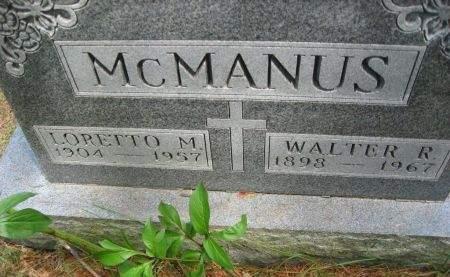 MCMANUS, WALTER - Polk County, Iowa | WALTER MCMANUS