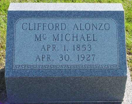 MCMICHAEL, CLIFFORD ALONZO - Polk County, Iowa   CLIFFORD ALONZO MCMICHAEL