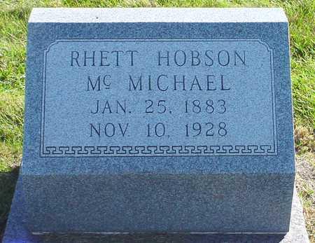 MCMICHAEL, RHETT HOBSON - Polk County, Iowa | RHETT HOBSON MCMICHAEL