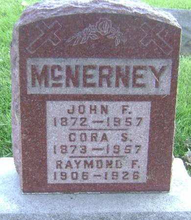 MCNERNEY, RAYMOND F - Polk County, Iowa | RAYMOND F MCNERNEY