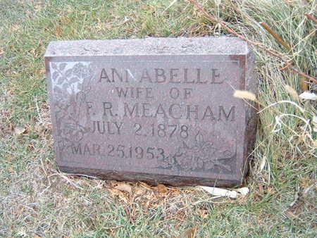 MEACHAM, ANNABELLE - Polk County, Iowa | ANNABELLE MEACHAM