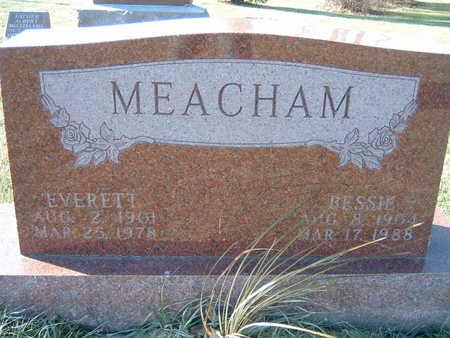 MEACHAM, BESSIE - Polk County, Iowa | BESSIE MEACHAM