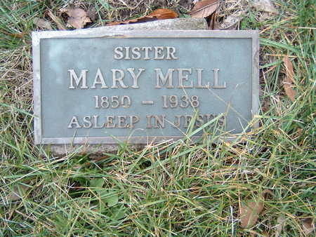 MELL, MARY - Polk County, Iowa | MARY MELL