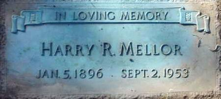 MELLOR, HARRY REEVES - Polk County, Iowa   HARRY REEVES MELLOR