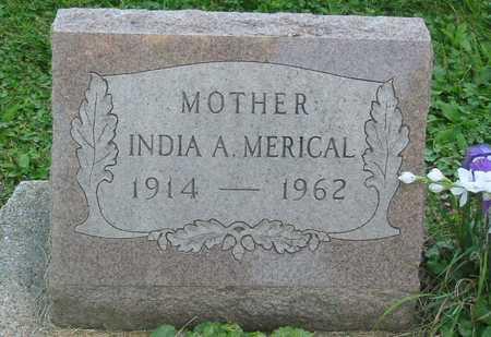MERICAL, INDIA A. - Polk County, Iowa | INDIA A. MERICAL