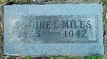 MILES, SQUIRE L. - Polk County, Iowa | SQUIRE L. MILES