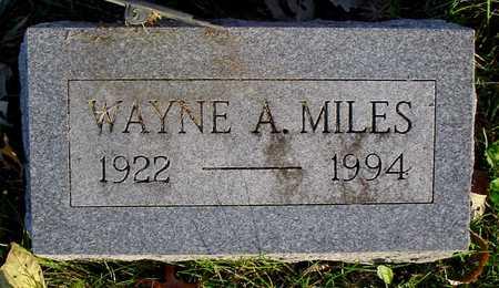 MILES, WAYNE A. - Polk County, Iowa | WAYNE A. MILES