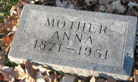 MILLER, ANNA - Polk County, Iowa   ANNA MILLER