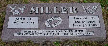MILLER, LAURA A. - Polk County, Iowa | LAURA A. MILLER