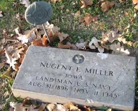 MILLER, NUGENT F. - Polk County, Iowa | NUGENT F. MILLER