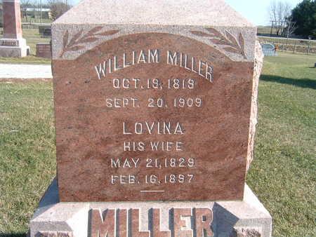 MILLER, WILLIAM - Polk County, Iowa   WILLIAM MILLER