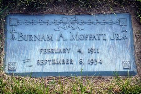 MOFFATT, BURNAM A. (JR.) - Polk County, Iowa   BURNAM A. (JR.) MOFFATT