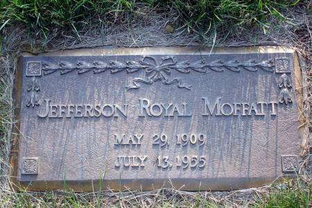 MOFFATT, JEFFERSON ROYAL - Polk County, Iowa   JEFFERSON ROYAL MOFFATT
