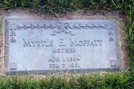 MOFFATT, MYRTLE E. - Polk County, Iowa   MYRTLE E. MOFFATT
