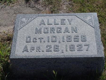 MORGAN, ALLEY - Polk County, Iowa | ALLEY MORGAN