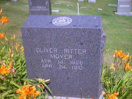 MOYER, OLIVER RITTER - Polk County, Iowa | OLIVER RITTER MOYER