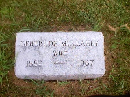 MULLAHEY, GERTRUDE - Polk County, Iowa | GERTRUDE MULLAHEY