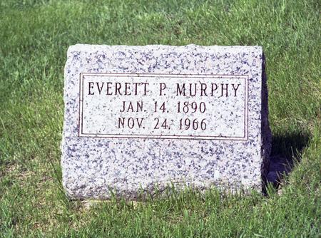 MURPHY, EVERETT - Polk County, Iowa   EVERETT MURPHY