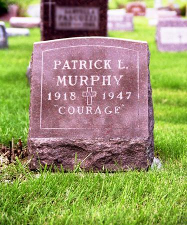MURPHY, PATRICK - Polk County, Iowa   PATRICK MURPHY