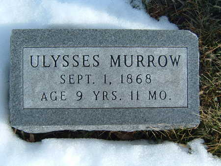 MURROW, ULYSSES - Polk County, Iowa | ULYSSES MURROW