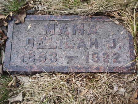 BRIGGS NICHOLAS, DELILAH - Polk County, Iowa   DELILAH BRIGGS NICHOLAS