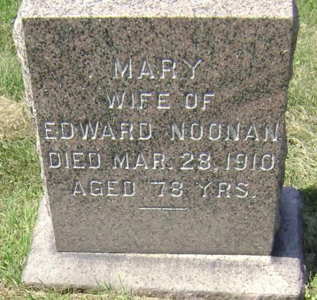 NOONAN, MARY - Polk County, Iowa   MARY NOONAN