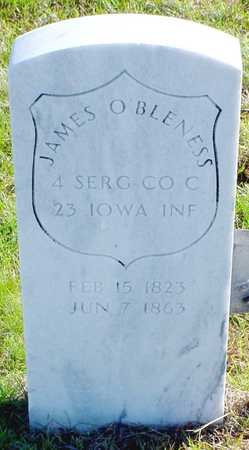 O'BLENESS, JAMES - Polk County, Iowa | JAMES O'BLENESS