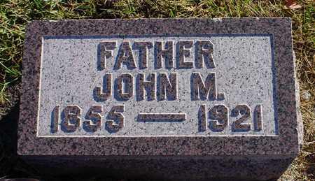 O'BLENESS, JOHN M. - Polk County, Iowa   JOHN M. O'BLENESS