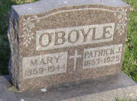 O'BOYLE, PATRICK J - Polk County, Iowa | PATRICK J O'BOYLE