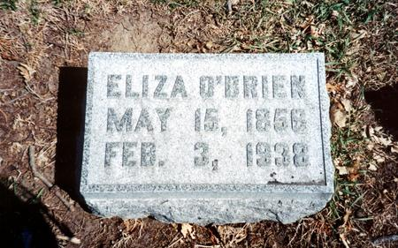 MCDONALD O'BRIEN, ELIZA - Polk County, Iowa | ELIZA MCDONALD O'BRIEN