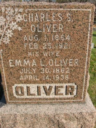 OLIVER, CHARLES - Polk County, Iowa   CHARLES OLIVER
