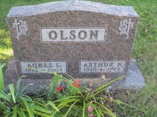 OLSON, AGNES - Polk County, Iowa   AGNES OLSON