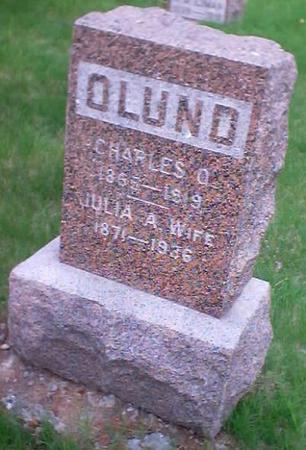 OLUND, CHARLES O. - Polk County, Iowa | CHARLES O. OLUND