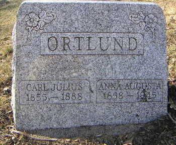 ORTLUND, CARL JULIUS - Polk County, Iowa | CARL JULIUS ORTLUND