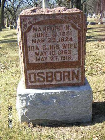OSBORN, MANFORD N. - Polk County, Iowa | MANFORD N. OSBORN