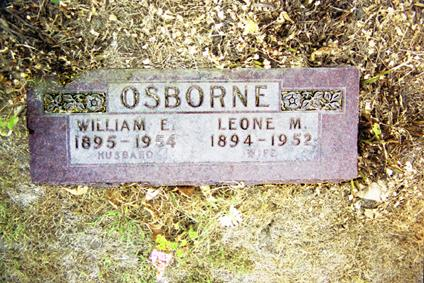 OSBORNE, WILLIAM E. - Polk County, Iowa | WILLIAM E. OSBORNE