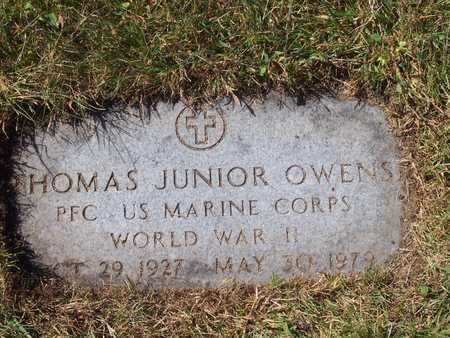OWENS, THOMAS JUNIOR JR - Polk County, Iowa   THOMAS JUNIOR JR OWENS
