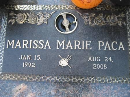 PACA, MARISSA MARIE - Polk County, Iowa | MARISSA MARIE PACA