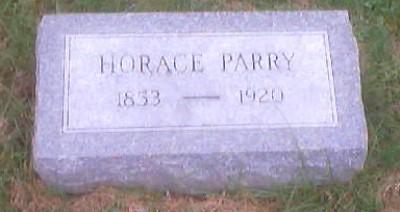 PARRY, HORACE - Polk County, Iowa | HORACE PARRY