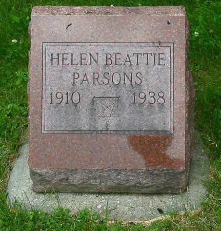BEATTIE PARSONS, HELEN - Polk County, Iowa | HELEN BEATTIE PARSONS