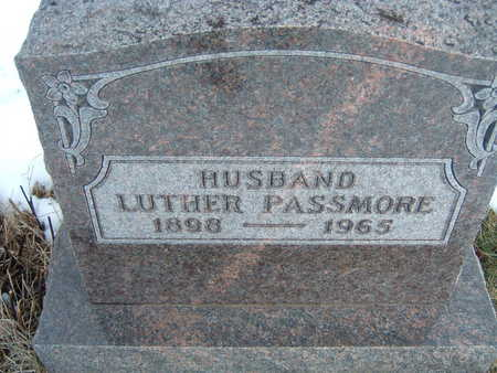 PASSMORE, LUTHER - Polk County, Iowa | LUTHER PASSMORE