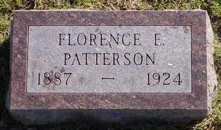 PATTERSON, FLORENCE E. - Polk County, Iowa | FLORENCE E. PATTERSON