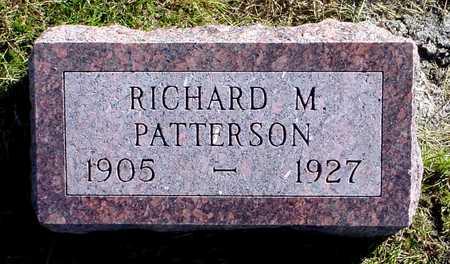 PATTERSON, RICHARD M. - Polk County, Iowa   RICHARD M. PATTERSON
