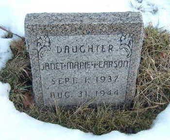 PEARSON, JANET MARIE - Polk County, Iowa | JANET MARIE PEARSON
