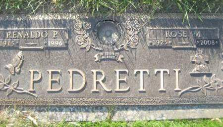 PEDRETTI, ROSE M - Polk County, Iowa | ROSE M PEDRETTI
