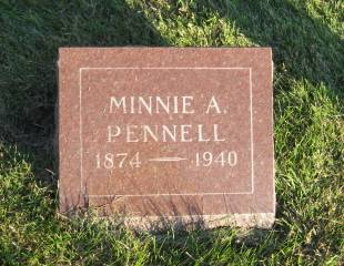 PENNELL, MINNIE - Polk County, Iowa | MINNIE PENNELL
