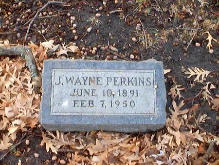 PERKINS, J. WAYNE - Polk County, Iowa | J. WAYNE PERKINS